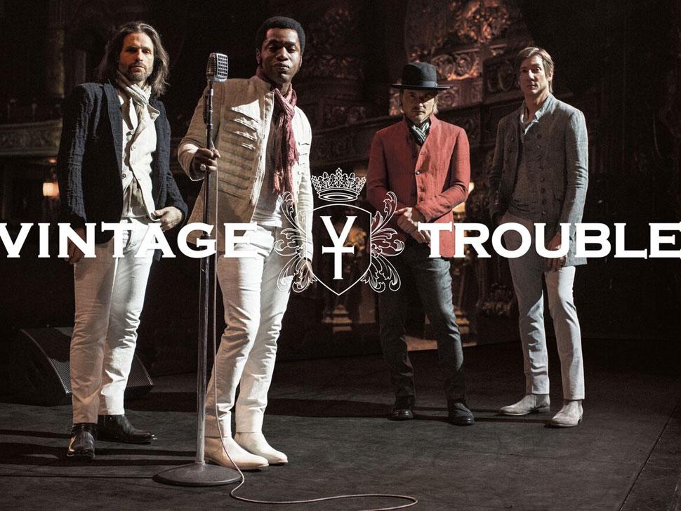 Vintage Trouble en concert